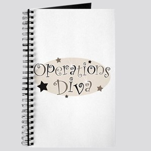 """""""Operations Diva"""" [brown] Journal"""